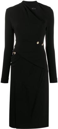 Proenza Schouler Asymmetric Neckline Dress
