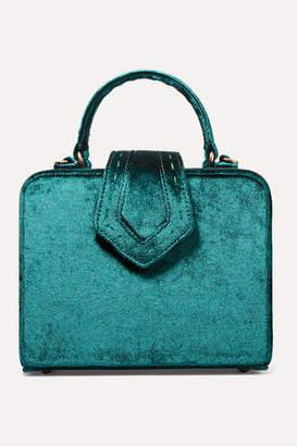 Mehry Mu - Fey Mini Velvet Tote - Emerald