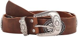 Leather Rock Elodie Belt (Tobacco) Women's Belts