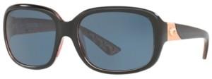 Costa del Mar Polarized Sunglasses, Gannet 58