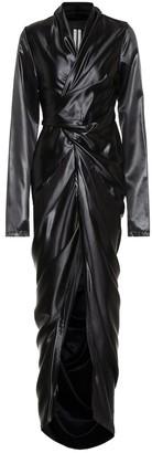 Rick Owens Wrap maxi dress