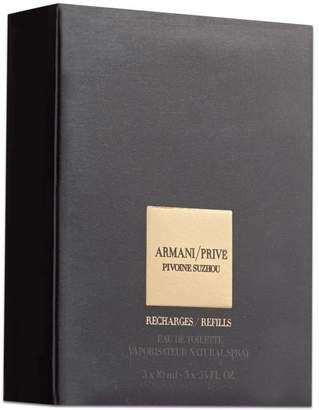 Giorgio Armani Prive Pivoine Eau De Toilette Natural Spray Refill Bottles