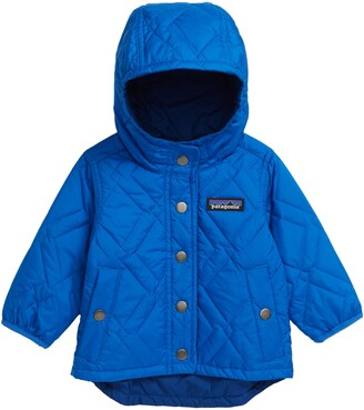 Patagonia Reversible Quilted Hooded Jacket