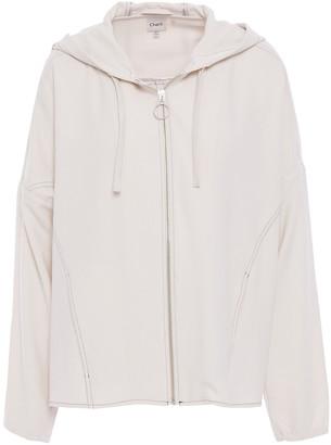 Charli Crepe Hooded Jacket