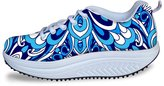 Bigcardesigns Lady Women's Shape Ups Toning Fitness Walking Shoes Sport Sneaker High Platform 36
