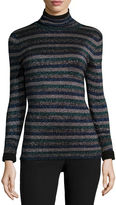 WORTHINGTON Worthington Long-Sleeve Turtleneck Sweater - Tall