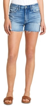 Silver Jeans Co. Sure Thing Cutoff Denim Shorts