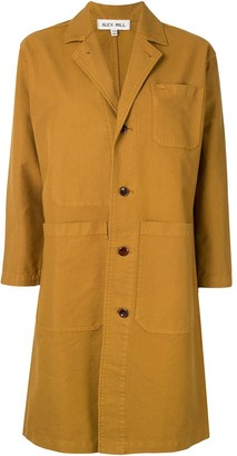 Alex Mill Long Work Denim Coat