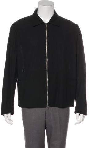 Valentino Textured Shirt Jacket w/ Tags