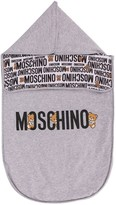 Moschino Kids Teddy Bear logo sleep bag