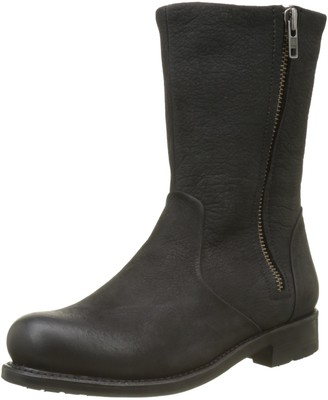 Blackstone Womens Mw70.blkf Biker Boots Black Size: 6 UK