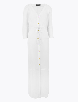 Marks and Spencer Button Through Maxi Beach Dress