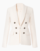 Veronica Beard Peninsula Peak Lapel Dickey Jacket