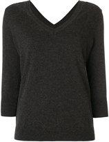 Etoile Isabel Marant v neck v back sweater