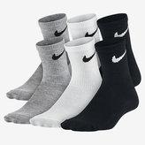 Nike Swoosh Crew Socks (6 Pair)