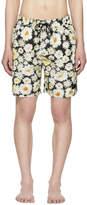 Burberry Black Daisy Ska Guildes Swim Shorts