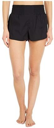 FP Movement Solid Run Wild Shorts (Black) Women's Shorts