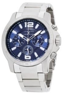 Joseph Abboud Men's Analog Silver Stainless Steel Bracelet Watch 28mm