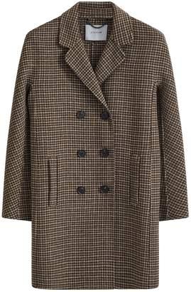 Jigsaw Double Face Tweed Short Coat