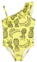 Tucker + Tate Pineapple Ruffle One-Piece Swimsuit