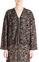 Lanvin Women's Guipure Lace Bomber Jacket