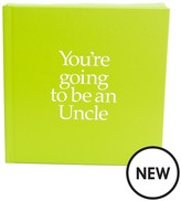 POOTER 'you're Going To Be An Uncle' Book & Sock Set