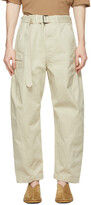 Thumbnail for your product : Lemaire Off-White Twisted Jeans