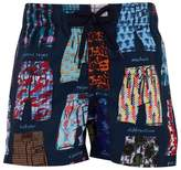 Vilebrequin Swimming Short Print Trunks