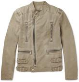 Balmain Cotton Biker Jacket