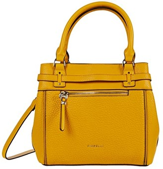 Fiorelli Freddie Small Satchel (Yellow) Handbags