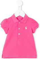 Ralph Lauren logo polo shirt - kids - Cotton - 6 mth