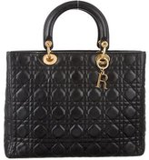 Christian Dior Large Lady Satchel