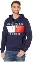 Tommy Hilfiger Brooks Pullover Hoodie Sweatshirt (Peacoat) Men's Sweatshirt
