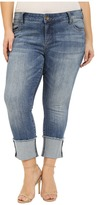 KUT from the Kloth Plus Size Cameron Straight Leg in Fervent