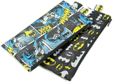 Bumkins Batman Comic Small Snack Bags - Set of Two