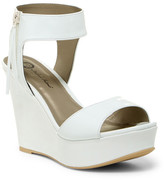 Michael Antonio Amus Patent Wedge Sandal