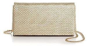 Aqua Woven Clutch - 100% Exclusive