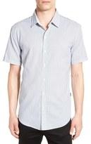 BOSS 'Robb' Trim Fit Print Short Sleeve Sport Shirt