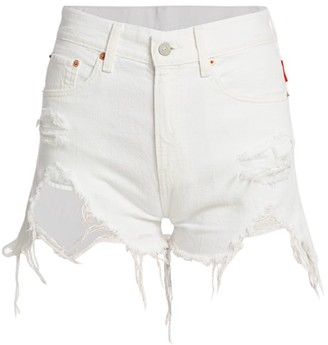 Denimist Nic High-Rise Cut-Off Shorts
