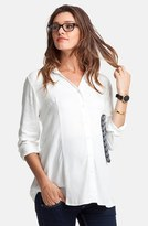 Isabella Oliver Women's 'Cranleigh' Maternity Shirt