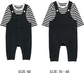 Uniqlo Baby Coordinate Long Sleeve One Piece Outfit