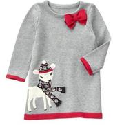 Gymboree Deer Sweater Dress