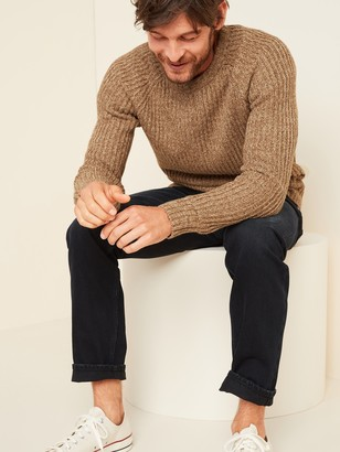 Old Navy Textured Rib-Knit Crew-Neck Sweater for Men