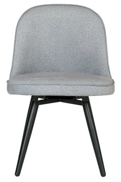 "Studio Designs HOME Dome Swivel 20"" Side Chair Upholstery Color: Heather Gray"