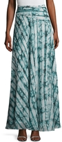 The Jetset Diaries Women's Serpiente Printed Maxi Skirt