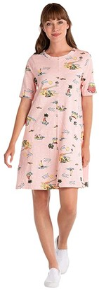 Fresh Produce Beachy Keen Lorna Dress (Blush) Women's Dress