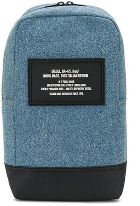 Diesel Denim Backpack