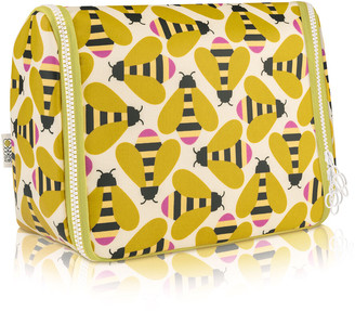 Orla Kiely Hanging Wash Bag - Busy Bee