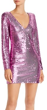 LIKELY Beverly Sequined Mini Dress