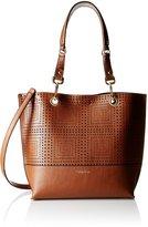 Calvin Klein Reversible N/S Perf Tote Bag